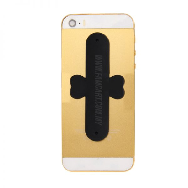 Proocam One Touch Universal Magic U Mobile Silicone Holder Stand for Phone  -Black