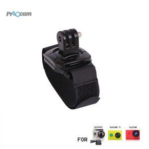 Proocam Pro-F045 Hand Wrist Strap the Adaptor revolve 360-degree for Gopro Hero , SJCAM , MIYI, Dji Osmo