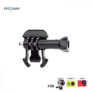 Proocam Pro-J007 Mount with screw for Chest Harness fit for Gopro Hero action camera, Dji Osmo