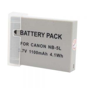 Proocam Canon NB-5L Compatible Battery for Canon PowerShot SD, Digital IXUS, IXY Digital