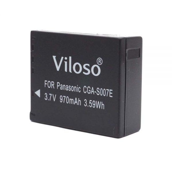 Proocam Panasonic Lumix CGR-S007E DMW-BCD10 Compatible Battery for DMC-TZ1 TZ1 BCD10