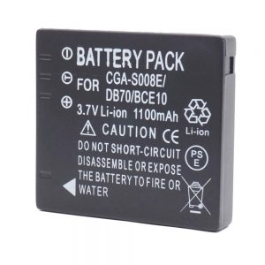 Proocam Panasonic Lumix CGA-S008/BCE-10E Compatible Battery for Panasonic DMC-FS5, DMC-FS20,DMC-FX36