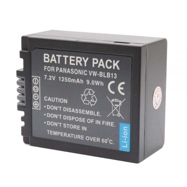 Proocam Panasonic Lumix Battery BLB13 BLB-13 for DMC-G1A DMC-G1K