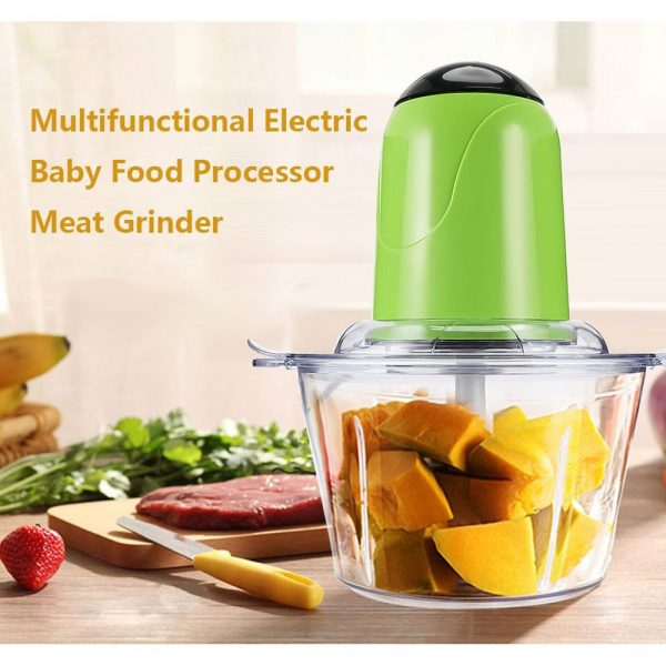 DELLY FCM-007 MULTI-FUNCTION ELECTRIC COOKING MACHINE FOOD BLENDER MEAT ONION CHILI GRINDER