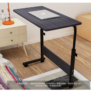 Delly BLACK flexible Height Adjustable Table Notebook Laptop Computer Beside Table bed living HAT-BK