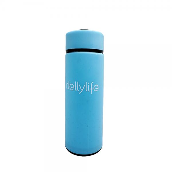 Dellylife Blue Travel drinkware 450ml Portable bottle Business water tumbler for tea glass drinking bottle TDP-BL
