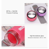 Dellylife Purple Travel drinkware 450ml Portable bottle Business water tumblr for tea glass drinking bottle TDP-PU