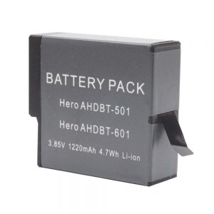 Proocam Battery rechargeable for GOPRO Hero 5, 6, 7 battery (AHDBT-501)  One Years Warranty