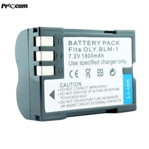 Proocam Viloso BLM-1 rechargeable Camera battery for Olympus PS-BLM1 BLM-1