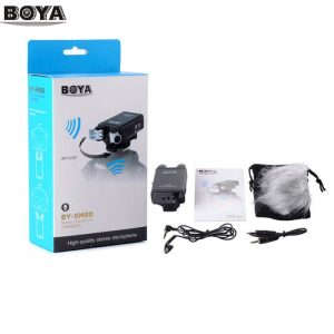 BOYA BY-SM80 Stereo Video Microphone with Windshield for Canon Nikon DSLR Camera Camcorder