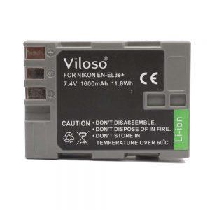 Proocam Nikon EN-El3  E3  Compatible Battery for Nikon D200, D80,D90 D300, D100, D100SLR
