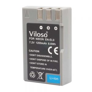 Proocam Nikon En-El9  E9 Compatible Battery for Nikon D40, D60, D3000, D5000 DSLR