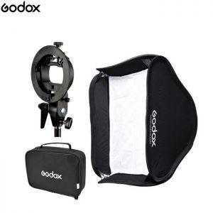 Godox S-Type 60 x 60cm Softbox Speedlite Bracket Mount Holder for Studio Photography