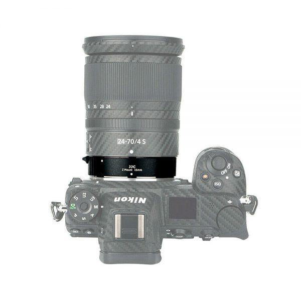 JJC AET-NKZII Automatic Extension Tube Macro Photography for Nikon Z Mount Camera Z7 Z6