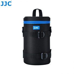 JJC DLP-6IIXL Water Resistant Deluxe Lens Pouch with Shoulder Strap fits Lens Size below 125 X 235mm