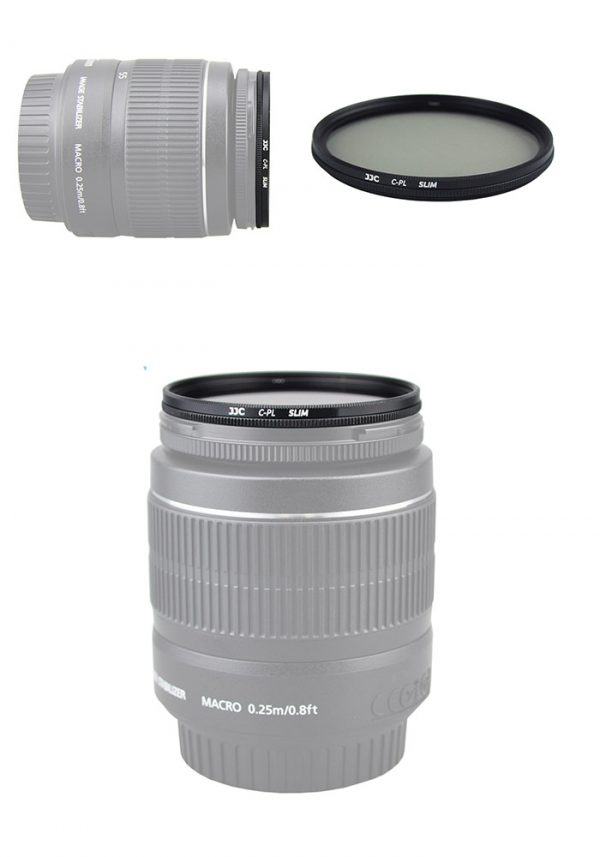 JJC F-CPL40.5 CPL Circular Polarizer Filter Ultra Slim 40.5mm for Camera DSLR Lens