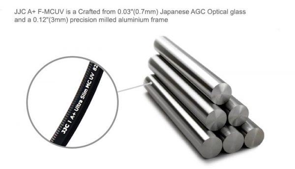 JJC A+ F-MCUV49 Multi-coated MC UV Ultra Slim Lens Filter 49mm for Camera DSLR Lens (Japan AGC Glass)