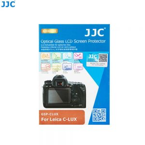 JJC GSP-CLUX Leica C-LUX Panasonic DMC-ZS200/ZS220/TZ200/TZ220/TX2 Ultra-Thin 9H 2.5D Tempered Glass Clear LCD Screen Protector
