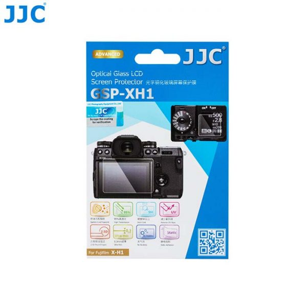 JJC GSP-XH1 for Fujifilm X-H1 Tempered Glass Camera Screen Protector