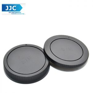 JJC L-R15 Rear lens Cap and Body Cap for Canon EOS-M