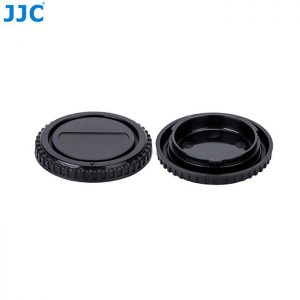 JJC L-R5 Rear & Body Cap for  Four Thirds 4/3 Mount Cameras Cameras