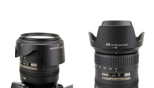 JJC LH-39 Lens Hood for Nikon 18-300mm f/3.5-6.3G ED VR Lens Camera Lens ( HB-39 )