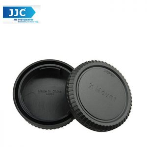 JJC L-R14 Body and Rear Lens Cap for FUJIFILM X Mount Camera Body and FJ X Mount Lens