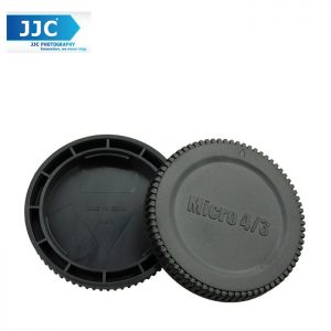 JJC L-R7 Body and Rear Lens Cap Olympus M4/3 Lens Camera Cover