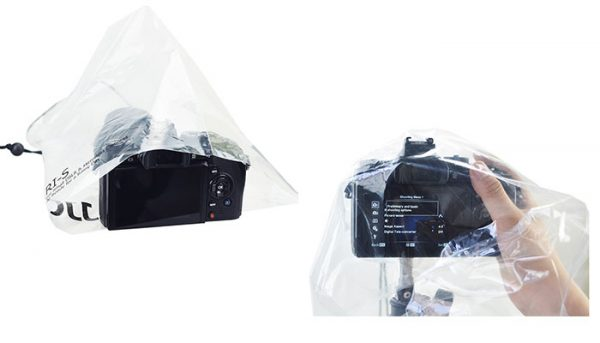 JJC RI-S Camera Rain Cover for DSLR Lens and Mirrorless Camera (2pcs)