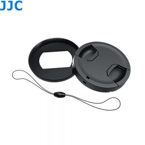 JJC RN-RX100VI 52mm Metal Filter Ring Adapter with Lens Cap & Lens Cap Keeper for Sony RX100 VI