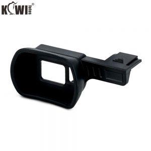 Kiwifotos KE-X100FL Camera Eyecup Large Extra Length for Fujifilm X100F camera