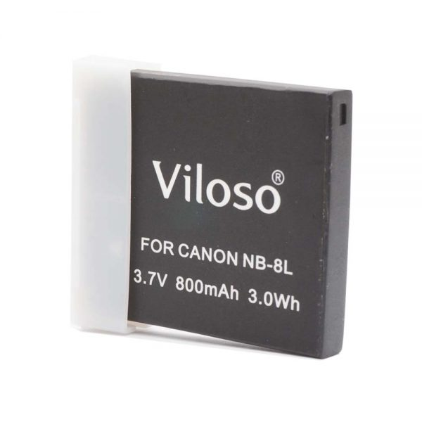 Proocam Viloso NB-8L rechargeable battery for Canon A3000 , A3100 Camera
