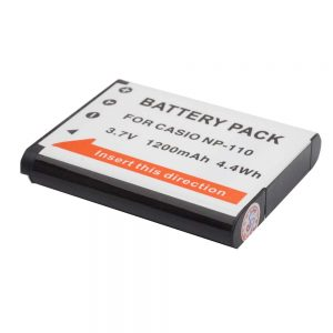 Proocam Casio NP-110 NP110 Compatible battery for Exilim EX-Z2300, EX-Z2000 EX-ZR10
