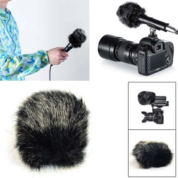 PROOCAM MF-11 Small Outdoor Microphone Furry mic Windscreen Muff for SHENGGU SG-107 ,SG109