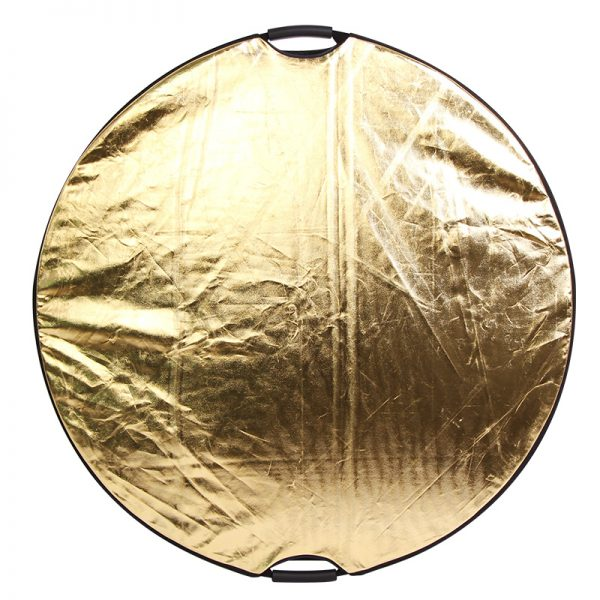 Photolite 80cm 5 in 1 Light Reflector with Bag - Translucent, Silver, Gold, White
