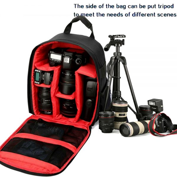 Proocam 1705 Dslr Camera Travel backpack Anti-theft for Camera Lens Flashlite Speedlite accessories Video backpack bag