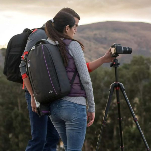 Proocam 8018 Dslr Camera Laptop backpack 15.6 inch Anti-theft Camera Video backpack bag