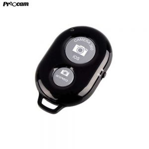 Proocam AI-1 Bluetooth Remote Control Mobile phone Photo selfie and Video for Android and IOS Apple phone -Black