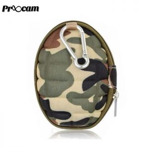 Proocam PRO-F169-GR Portable Single Bag Case for Gopro Yi SJCam action camera -Army Green