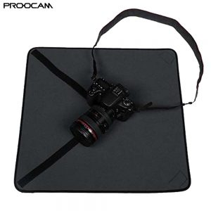 Proocam CC-50 XL Shockproof Neoprene Camera Protective Wrap Cloth Blanket for Canon Nikon Sony DSLR Lens Flash Cloth Protect Cover