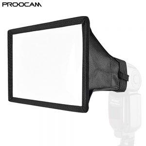Proocam DF-04 Universal Square Softbox Flash Diffuser For Speedlite Nikon Canon Sony Olympus