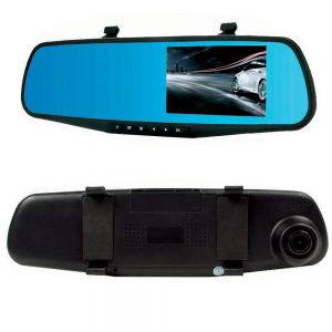 Proocam DRMC-3 DVR Dash Front Rear Mirror Camera Video Recorder Vehicle Traveling Data Recorder 4.3 Inch 1080P Car