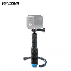 Proocam PRO-F207 19inch Aluminium Monopod goeasy pole with Mount Adapter for Gopro Hero, DJI Osmo