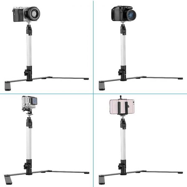 Proocam MT-100 Mini Table Top Light Stand Photo Tray bracket tripod for product photography