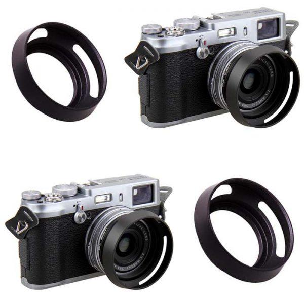PROOCAM 39mm Metal Lens Hood Shade for Leica Nikon canon Fujifilm Olympus Lens Black (MLH-39B)