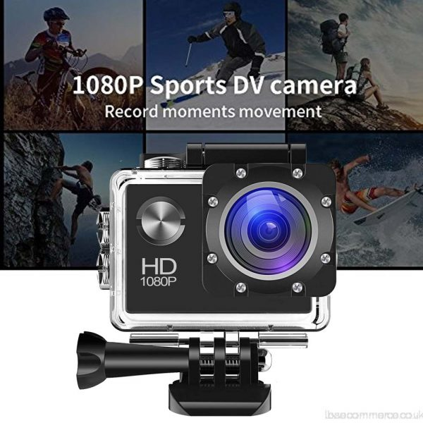 Sj50 HD 1080p Full 2.0 Inch Action  Sport Camera for Travel Full Set with accessories