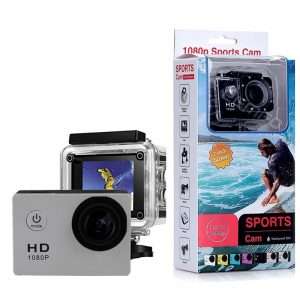 Sj50 HD 1080p Full 2.0 Inch Action Camera for Travel Sport Full Set with gopro accessories -Silver
