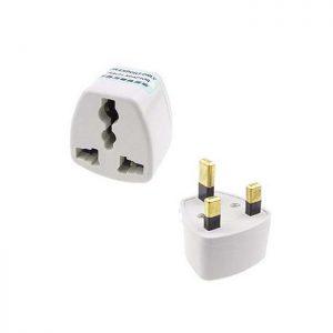 BLY005 UK 3 Pin Travel Plug Socket Adapter Adaptor  (China to Malaysia Plug Adaptor)