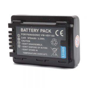 Proocam Viloso VW-VBY100 rechargeable battery for Panasonic HC-V130K HC-V110K HC-V201K