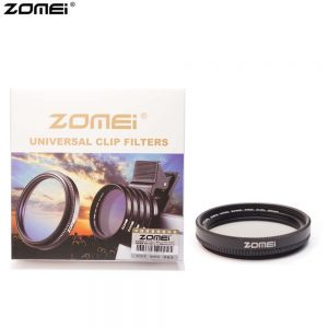Zomei CPL Mobile phone Filter 37mm for Iphone Vivo huawei oppo samsung